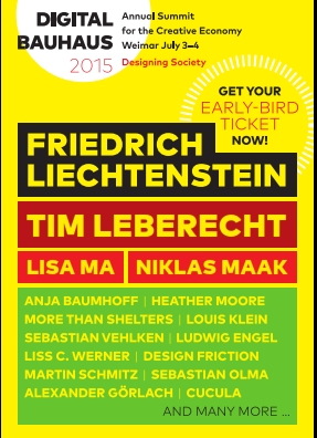 Digital Bauhaus Plakat 2015