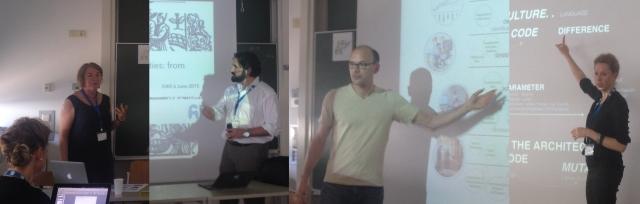 Prof. Geraldine Fitzpatrick, Stefan Blachfellner. Thomas Fundneider, LIss C. Werner