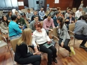 Academy for Circular Economy 2019 Karin Huber-Heim with participants